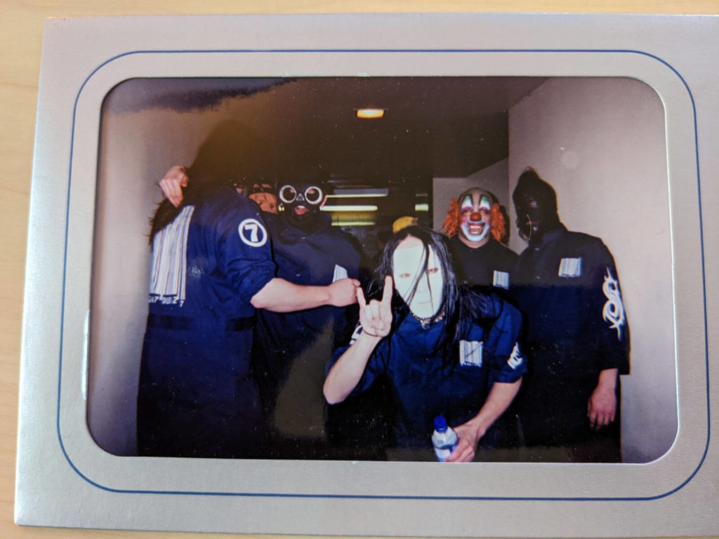 Pre-show at IIT in Chicago on April 4, 1998