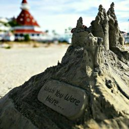 Sand Castle at the Hotel del Coronado